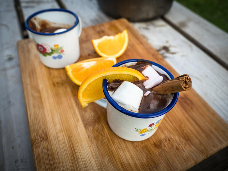 The Best Glamping Hot Chocolate - Main Image