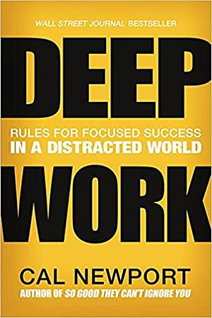 Book cover - Deep Work