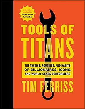 Book cover - Tools of Titans