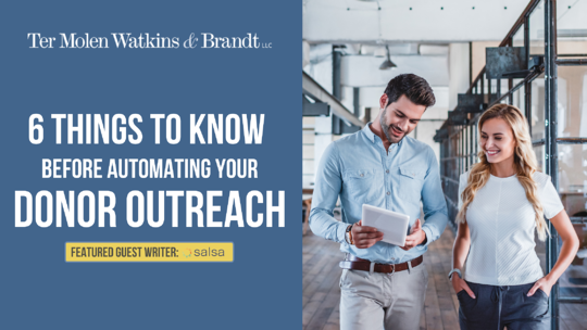 6 Things to Know Before Automating Your Donor Outreach