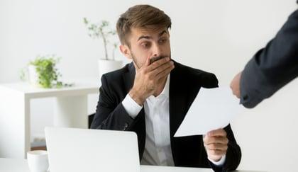 Qué multas pagan las empresas por rescindir del seguro de accidentes