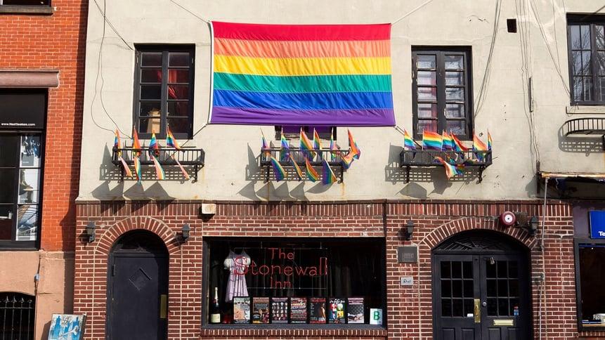 The Stonewall Inn / Pride Flag