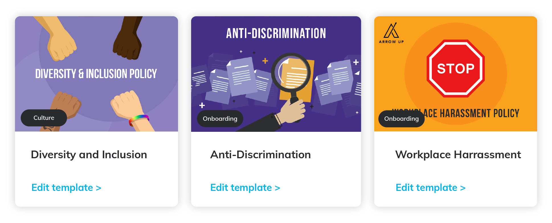 Get our free DEI policy templates!