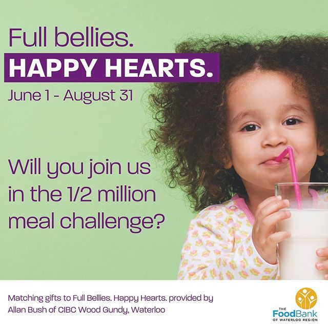 Full Bellies. Happy Hearts. June 1- August 31