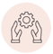 icons-red_Hands and cog wheel