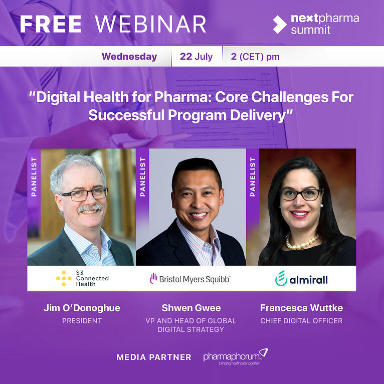 Digital Health for Pharma: Core Challenges for Successful Program Delivery