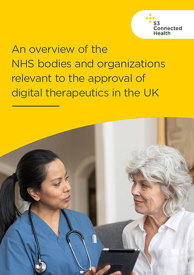 An overview of the NHS bodies and organizations relevant to the approval of digital therapeutics in the UK