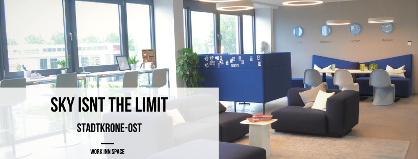 Coworking Space Stadtkrone Ost – Working over the clouds