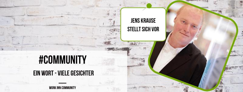 Community Update: 8 Fragen an Jens Krause