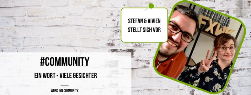 Community Update: 9 Fragen an Vivien & Stefan