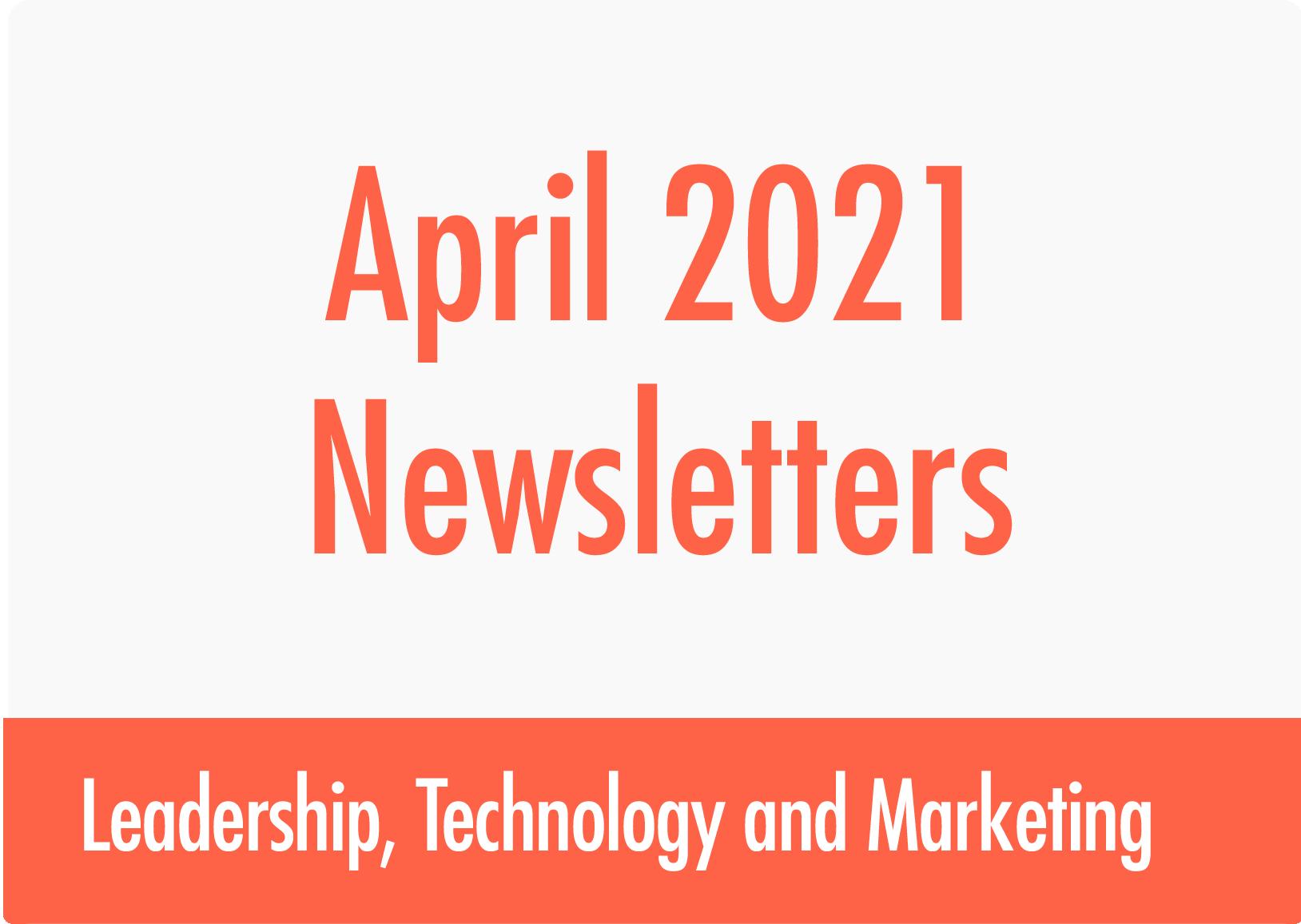 April Newsletters