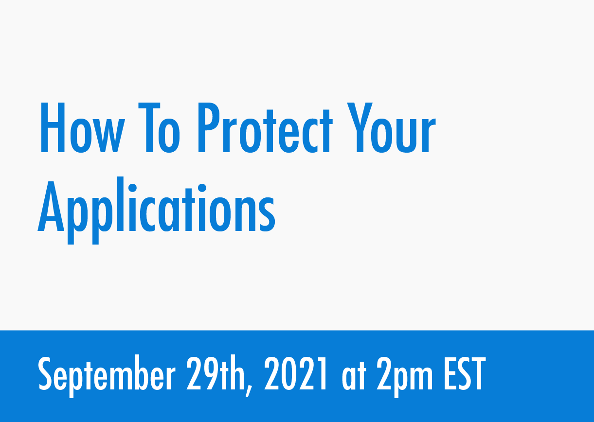 how-to-pretect-applications