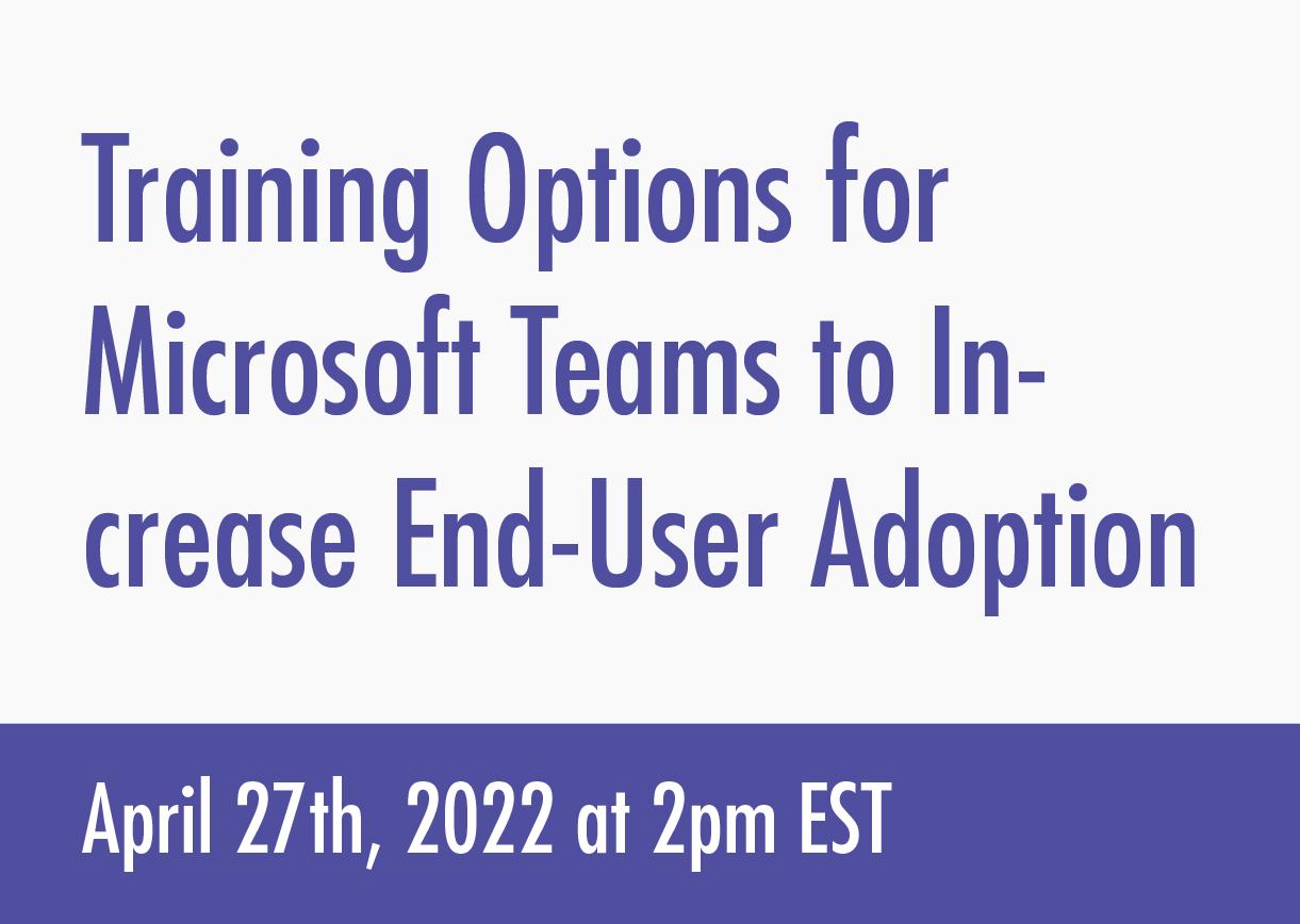 Microsoft-Teams -End-User