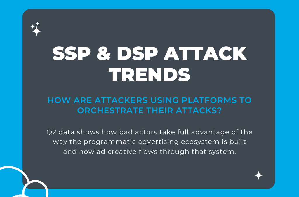 How Attackers Used SSPs & DSPs to Execute Attacks in Q2 2020