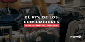 Las compras no esenciales vuelven a las tiendas: estudio