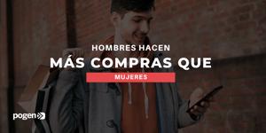 Hombres gastan 235% más que mujeres este año en México