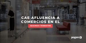 Afluencia a tiendas y centros comerciales cae hasta más del -90%