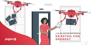 Drones para entregas, frenar los contagios y más