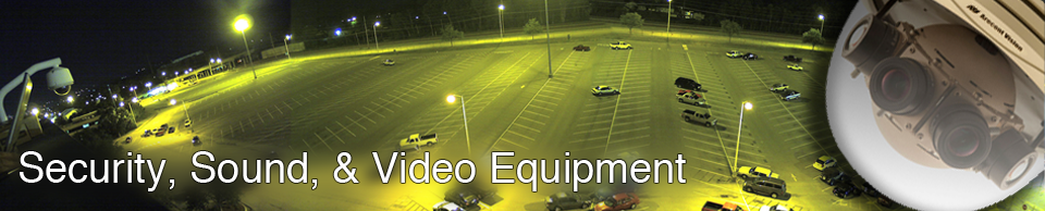 Security, Sound, and Video Equipment Products