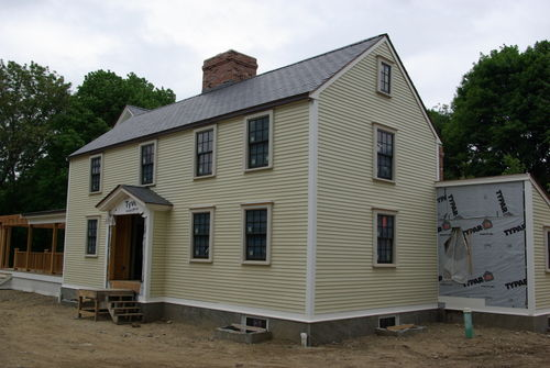 18th century home in Newton
