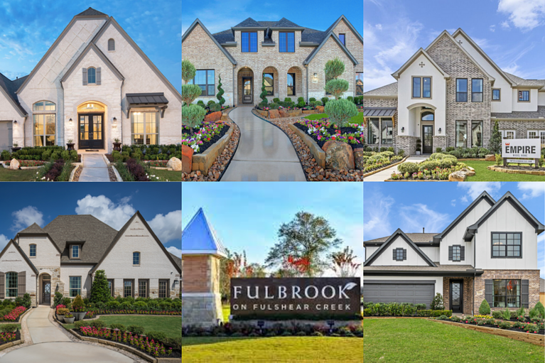 Five Home Builders in Fulshear You'll LOVE