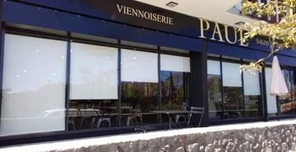 Nouvelle Réalisation ATELIER DU STORE à la Boulangerie Paul à Terre Sainte