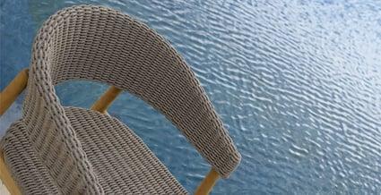 fauteuil de table pevero