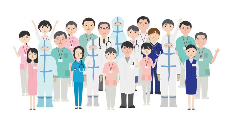 コメディカル?パラメディカル?医療従事者にはどんな職種があるの?