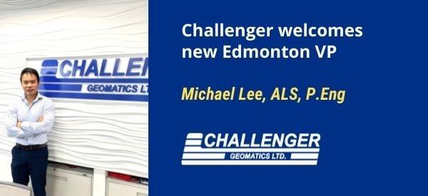 Michael Lee, ALS, MBA, P.Eng is named new VP in Edmonton
