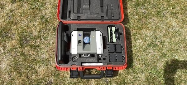 Challenger has acquired a New Laser Scanner, Leica RTC 360