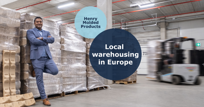 The benefits of local warehousing for Henry Molded Products