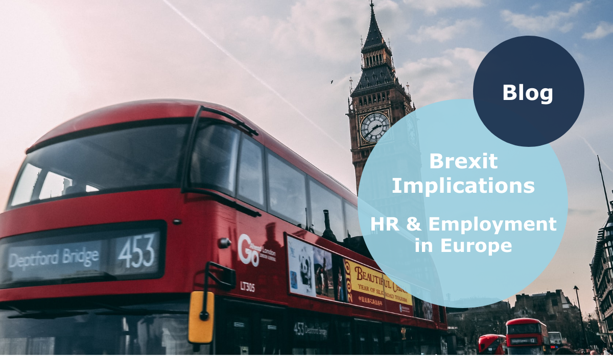 BREXIT Implications of the EU-UK Trade & Cooperation agreement on HR and Employment in Europe