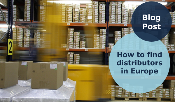 how to find distributors in Europe