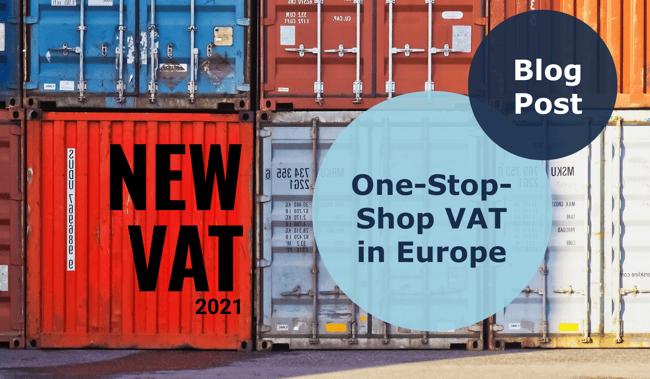 One-Stop-Shop VAT in Europe
