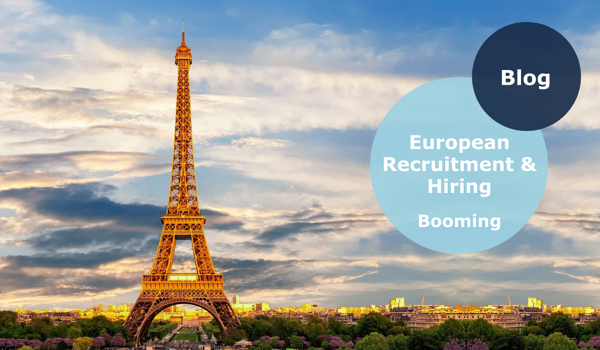 European recruitment and hiring is booming