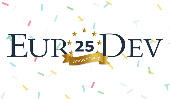 EuroDev 25 Year Anniversary