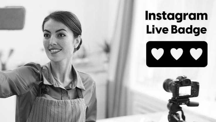 Instagram Live Badge