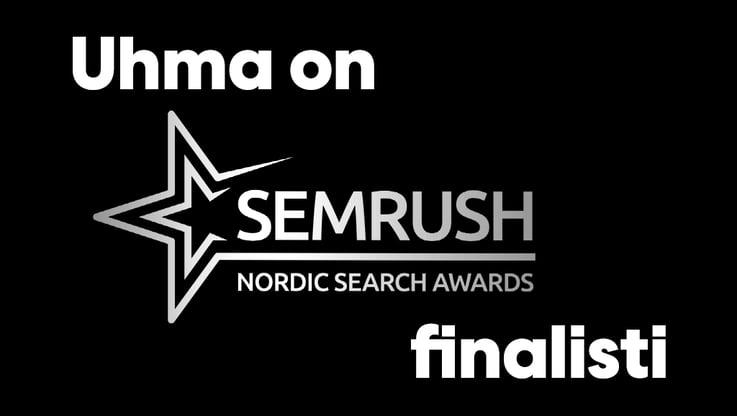 SEMrush Nordic Awards finalisti