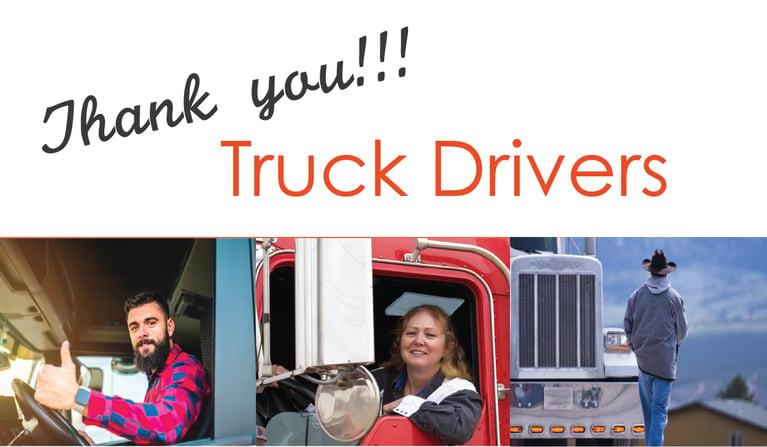 Help Us Celebrate National Truck Driver Appreciation Week!