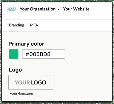 Swoop Branding Dashboard