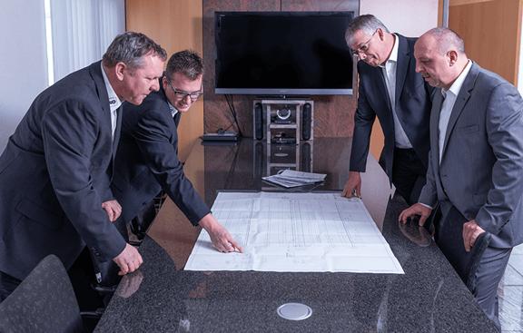 Reitz - Projektentwicklung Meeting