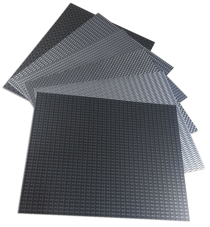 dimensional aluminum surfaces