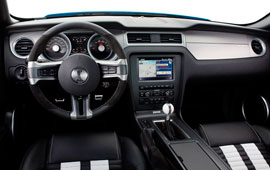 2010 mustang shelby interior trim