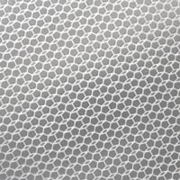 hex pattern on aluminum