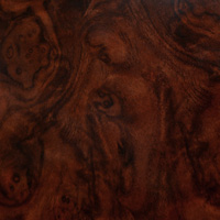 burl wood grain finish