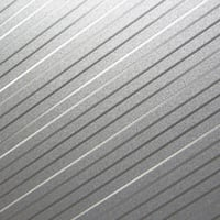 metallic pinstripe finish