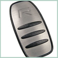 aluminum In-Mold | Volvo Key Fob