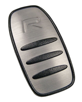 aluminum in mold Volvo key fob