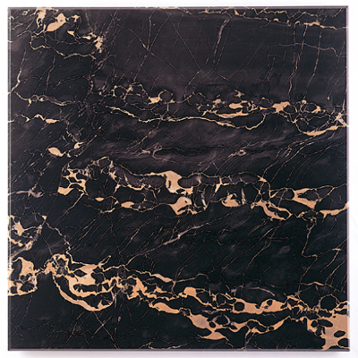 black & gold marble finish on aluminum