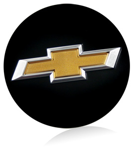 chevrolet textured logo